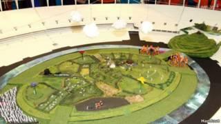 Abertura dos Jogos de 2012 | Foto: Divulgação