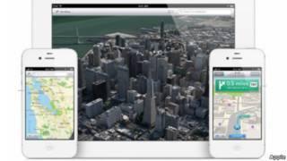 mapa apple