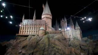拍攝哈里波特系列影片中使用的城堡模型