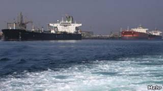 تانکرهای نفت ایران