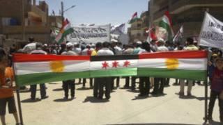 احتجاجات كردية