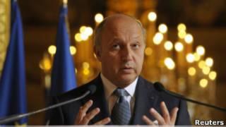 فرانس کے وزیرِ خارجہ لارنس فیبیو