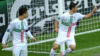 Bồ Đào Nha thắng Đan Mạch 3-2