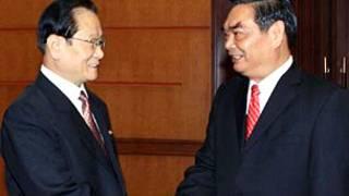 Lê Hồng Anh tiếp ông Kim Yong-il