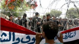 قوات شرطة في مصر