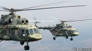 Вертолет Ми-17