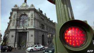 Spanish Central Bank in Madrid