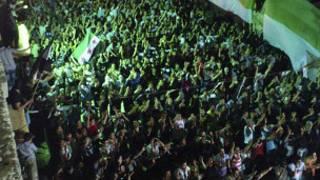 مظاهرات مناوئة للأسد