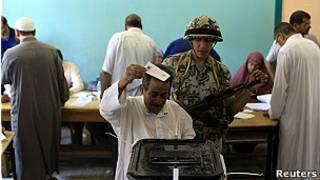 جولة الاعادة في انتخابات الرئاسة المصرية