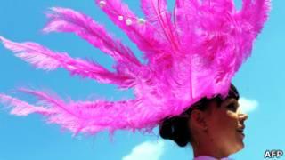 Шляпа на скачках в Аскоте