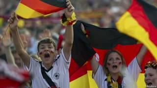 هواداران آلمان