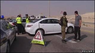 Израильские солдаты на границе с Египтом