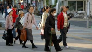 Idosos no Japão (Ewerthon Tobace/BBC Brasil)