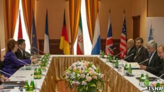 المفاوضات حول البرنامج النووي الايراني في موسكو