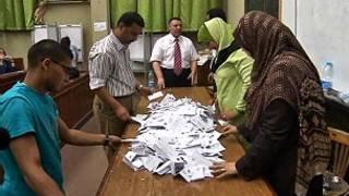 فرز الاصوات في الانتخابات الرئاسية المصرية