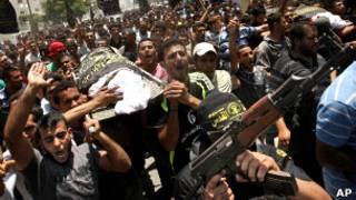 تشییع جنازه در غزه
