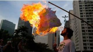 احتجاجات على قمة ريو