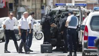 Полиция Тулузы