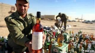 مصادرة الكحول في ايران