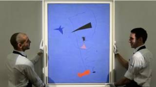 لوحة النجم الازرق لميرو