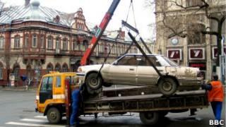Эвакуация автомобиля во Владивостоке