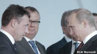 Путин и бизнесмены
