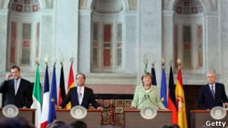 قادة اوروبا