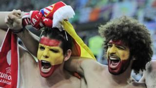 هواداران تیم ملی اسپانیا