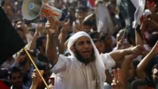 احتفال بفوز مرسي في ميدان التحرير