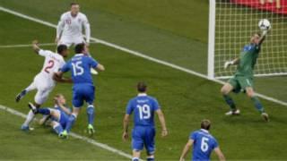 England na Italia
