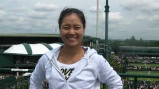 中国网球女将李娜