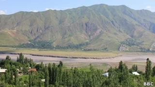 Раштская долина в Таджикистане