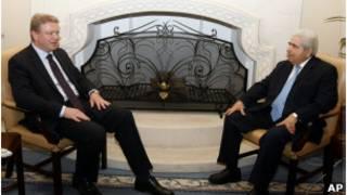 الرئيس القبرصي ديميتري كريستوفياس