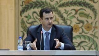 الأسد في خطابه أمام البرلمان