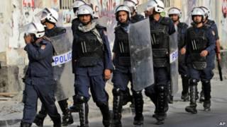 Polisi Bahrain
