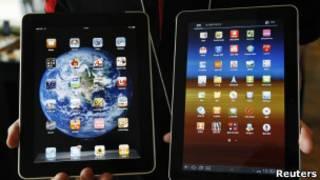 Apple iPad и Galaxy Tab