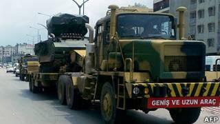 Турецкий военный грузовик