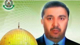صورة لغناجة في احد منشورات حماس