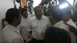 Journalits at Sri Lanka Mirror office describes what happened to UNP parliamentarian Mangala Samaraweera