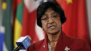 Верховный комиссар ООН по правам человека Нави Пиллай
