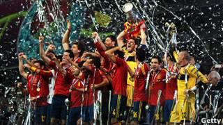 Espanha comemora título da Eurocopa | Photo credit: Getty images
