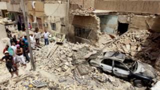 Serangan bom Irak