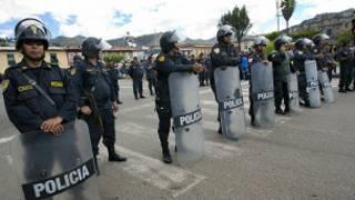 الشرطة في بيرو