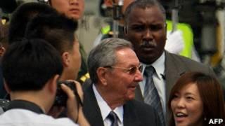Raul Castro en China