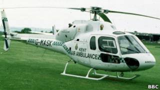 Французский вертолет AS-350