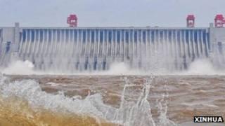 三峽水庫在去年成功蓄水175米。