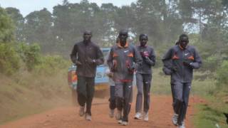 East Africa runners