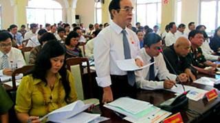Các đại biểu Hội đồng nhân dân Đà Nẵng