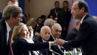 Taron Kasashe abokan Syria