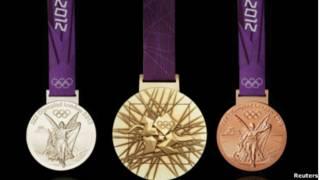 倫敦奧運獎牌